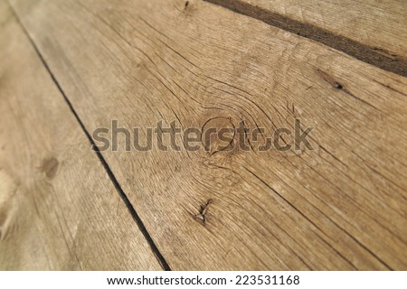Old weathered pine boards - stock photo