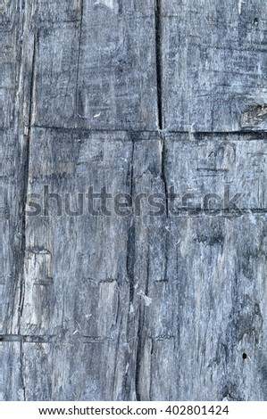 old weathered timbered wall - stock photo