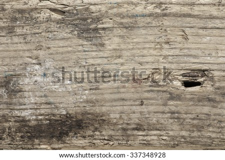 Old weathered wood texture close-up as background.