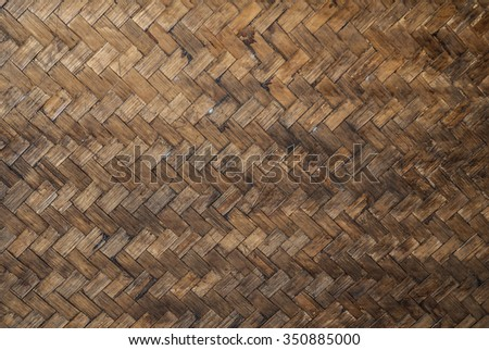 old weave pattern vintage - stock photo