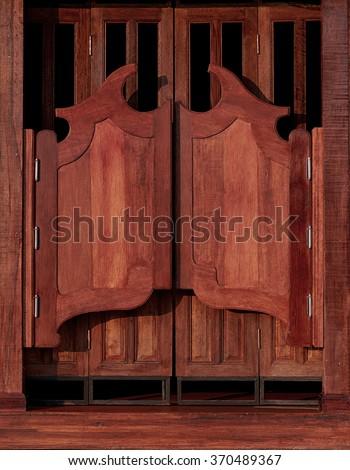 Old western swinging Saloon doors & Western Saloon Doors Stock Images Royalty-Free Images \u0026 Vectors ... Pezcame.Com