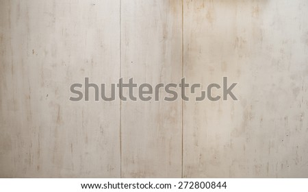 Old white painted panel wood texture. - stock photo