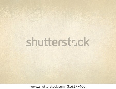 old white paper with vintage brown border, off white yellowed background texture with damaged distressed grunge design on border with pale beige center with copyspace for text or image - stock photo