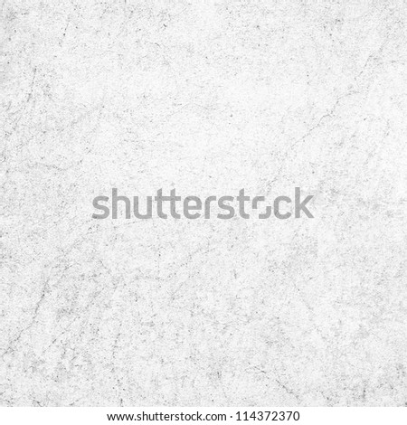 old white plaster wall scratch texture as abstract grunge background - stock photo