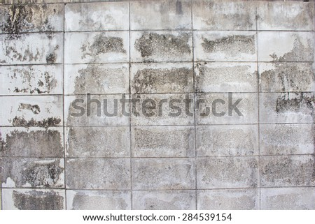 Old white wall background - stock photo