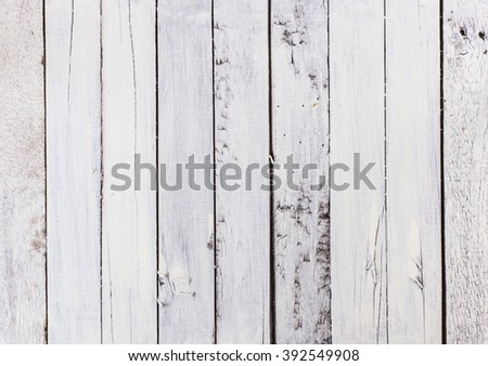 Old white wood background - bright and beautiful