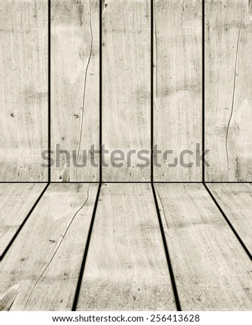 old white wood crate background texture - stock photo