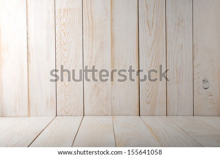 Old white wooden textured. Wooden background. - stock photo