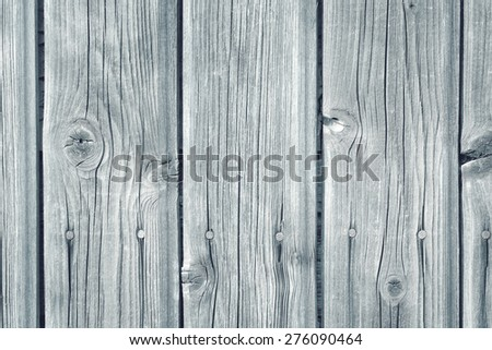old white wooden wall with textured planks - stock photo