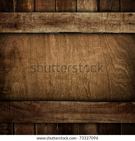 old wood background - stock photo