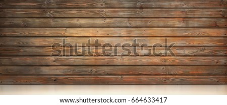 Old wood background 3d illustration