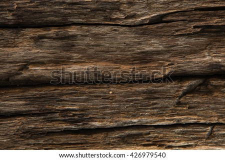 old wood background. Vintage wood background. Old vintage planked wood board - rustic or rural background with free text space - stock photo
