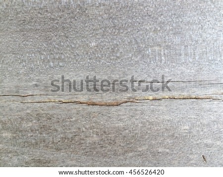Old wood crack wall texture background  - stock photo