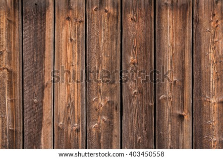 Old wood gate for texture background. Old pine wood. - stock photo