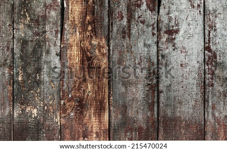 old wood grunge plank wall - stock photo