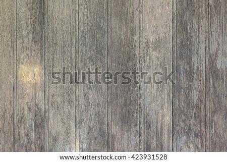 Old wood isolated background - stock photo