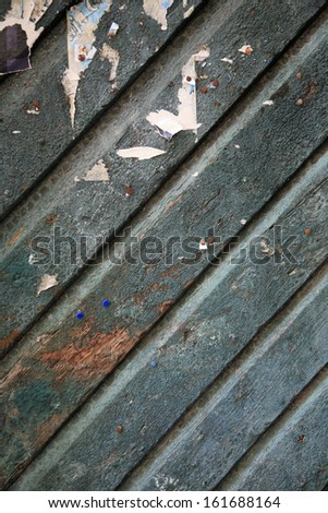Old Wood Panel Background - stock photo