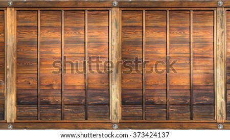 Old wood panel used for Background and Texture