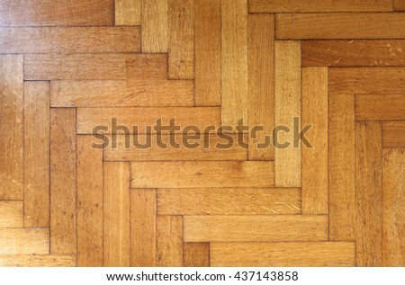 Old Wood Parquet texture, Fragment of vintage parquet floor