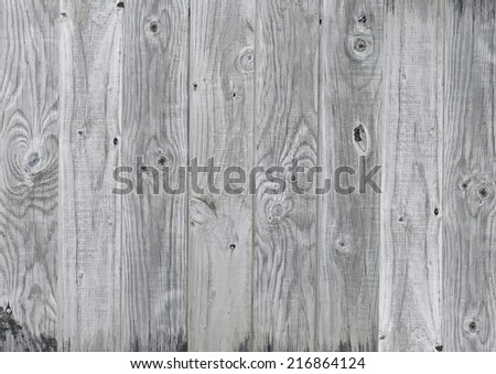 Old wood plank - stock photo