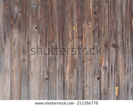 Old wood plank rustic wall surface background texture - stock photo