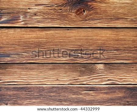 Old wood Planks - Background - stock photo