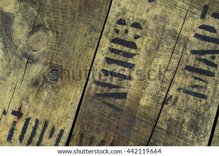 Old wood texture. Abstract background, empty template
