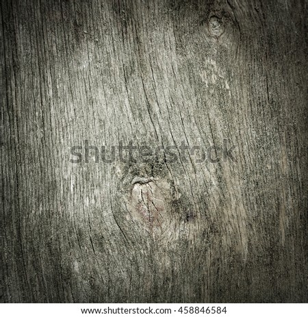 Old wood texture. Abstract background . old wall. vignette. - stock photo