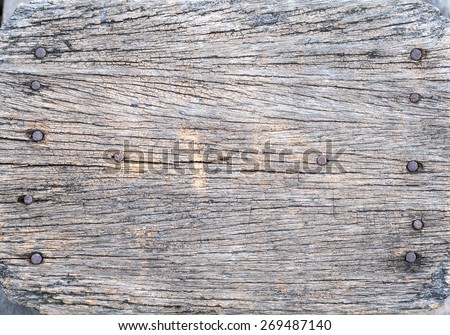 Old wood texture.background