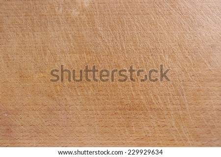 Old wood texture background furrowed with knife  - stock photo