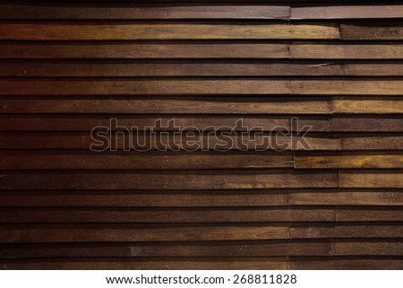 Old wood texture with dramatic Lighting for web background - stock photo