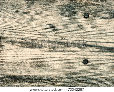 Old Wood Texture with nails for Background