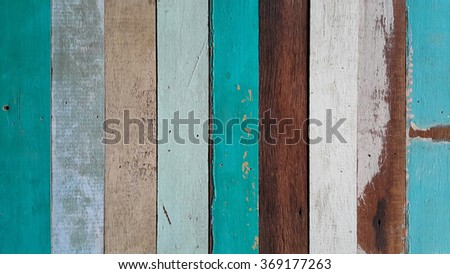 Old wood wall for background.