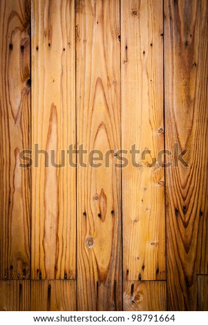 Old wood wall texture - stock photo