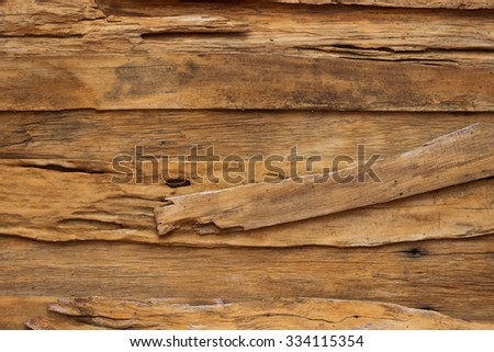 Old wood wall texture and background - stock photo