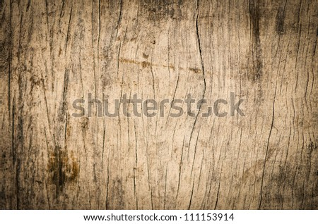 Old wood wall texture background. - stock photo