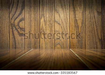 Old wooden backdrop, empty for your design.
