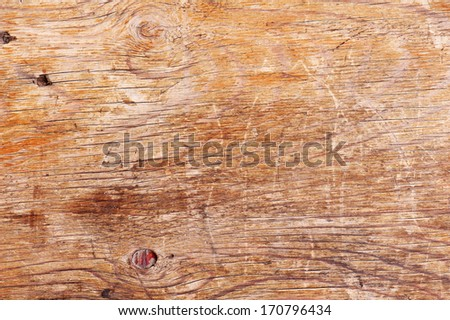 Old wooden background. Closeup. - stock photo