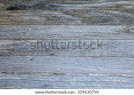 Old wooden background texture, top view. Wooden table, wall or floor.