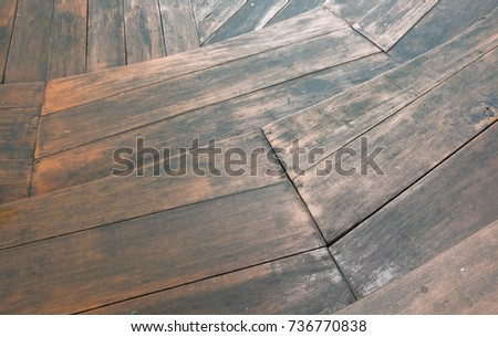 Old Wooden Background Staircase Retro Style Of Floor