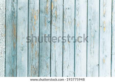 old wooden billboard - stock photo