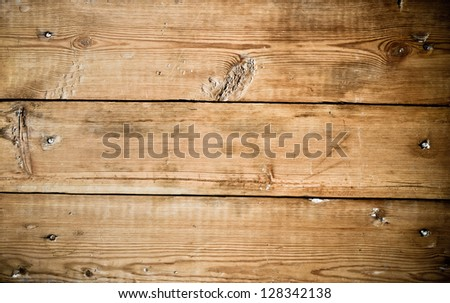 old wooden board, background - stock photo
