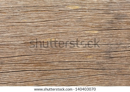 Old wooden board for Background or Texture. Macro shot.