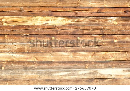 old wooden boards , beams , wall - stock photo