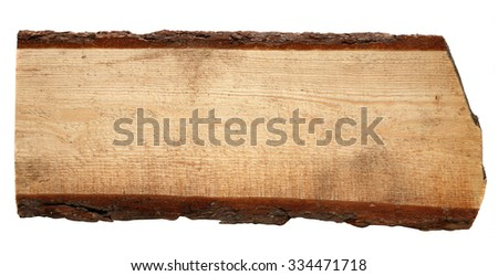 old wooden boards isolated on a white background.  - stock photo