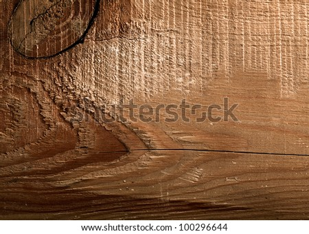 Old wooden desk as abstract backgrounds - stock photo