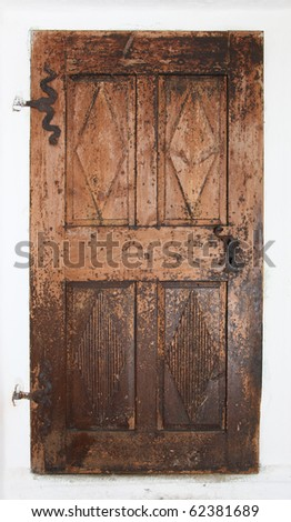 Old Wood Door Open Stock Images, Royalty-Free Images ...