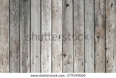old wooden fence background - stock photo