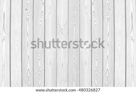 White Wood Fence Texture