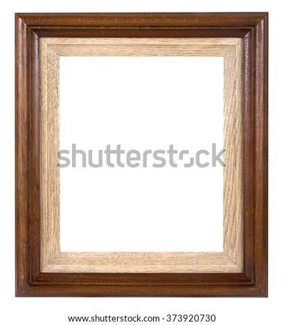 Old wooden framework. It is possible to insert a photo into them